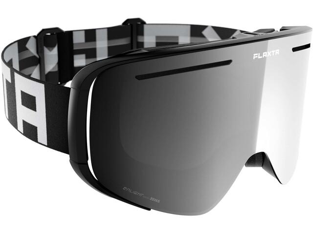 Flaxta Plenty Goggles black/white-silver mirror